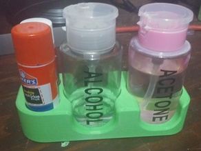 Alcohol Acetone Glue-Stick Station