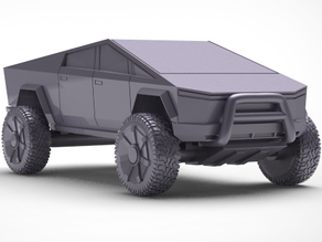 Off road Tesla cybertruck by Brexit (Gaslands scale)