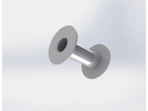 spool / bobbin and winding clip
