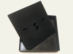 Parametric ceiling mounting electrical box for Coiaca boards and Sonoff Basic