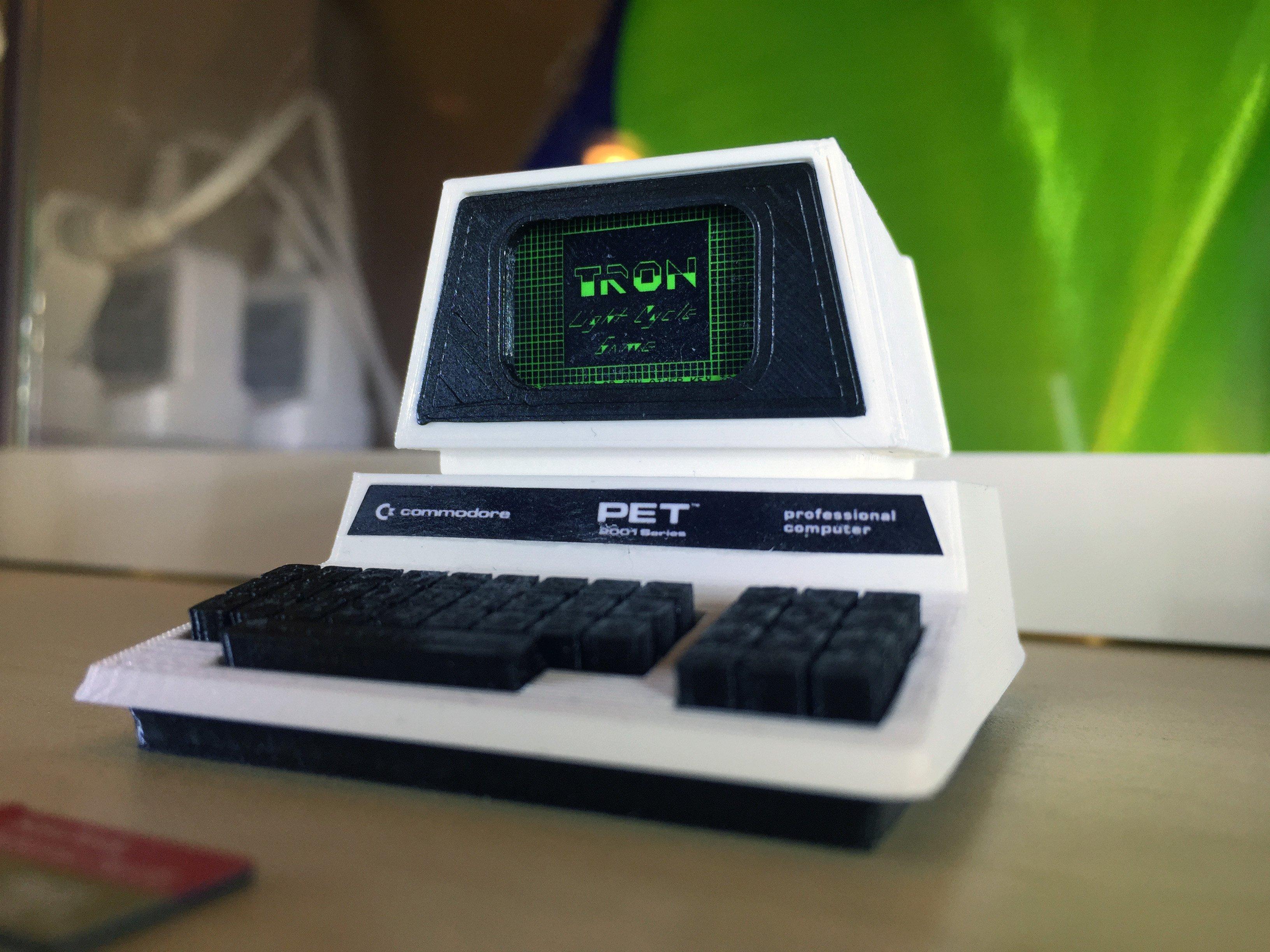 Mini Commodore PET series 2001N by RetromanIE