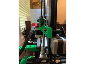 Ender 3 Filament Guide for 3DFused Linear Rails