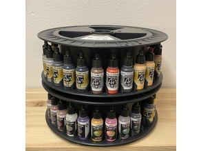 Stackable Filament Spool paint organizer