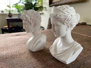 Greek Couple - Busts