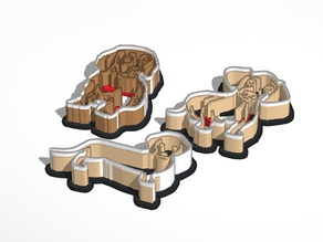 Dachshund Cookie Cutter Set
