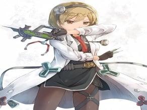 Gun cosplay Syringe gril