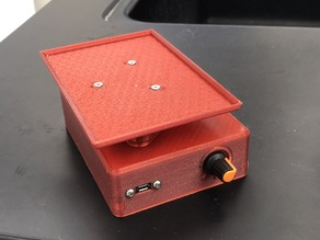 Low-cost plate shaker