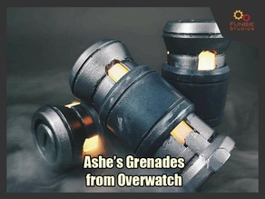 Ashe's Grenades from Overwatch