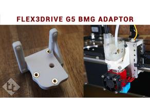 Flex3drive G5 to Bondtech BMG / E3D V6 adaptor