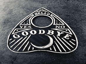 Spooky Ouija Planchette Coasters
