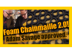 EVA foam chainmail (chainmaille) 2.0