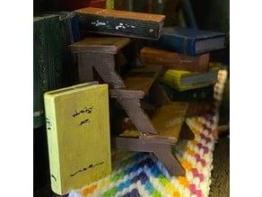 Miniature Library Footstool