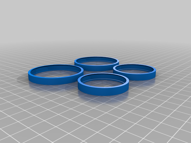 Tires for Fully 3D-printable wind-up car gift card