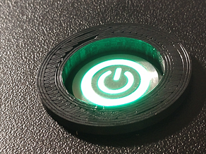 Arcade Power Button Sleeve Adapter