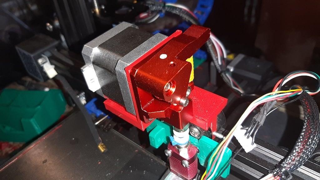 Adjustable Direct Drive Mount Ender 3 v2