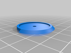 Base ring with 180° facing for 25mm miniature bases