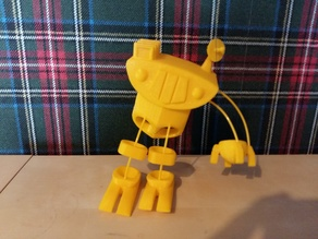 Finger conrolled robot