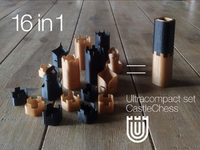 Ultracompact set CastleChess