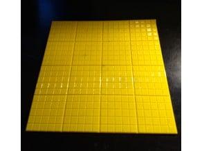 20cm Alignment Grid / Craft Cutting Board