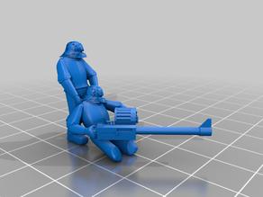 Hosytian Guardsman, Dragging Autocannon