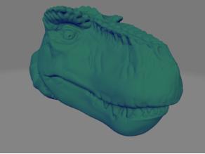 T-Rex Head Sculpt