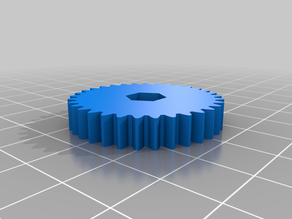 Hercules Extruder  3 to 1 Gears for Pancake Stepper