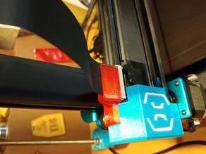 Sidewinder X1 - Z ribbon holder