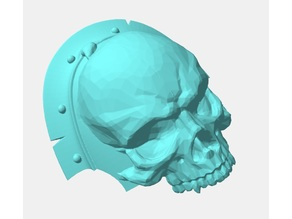 Skull Shoulder Pads