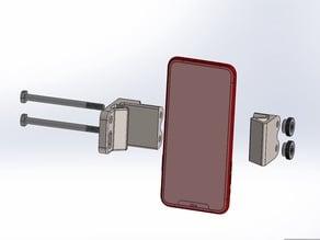 Quiver Phone Mount, Uses Quiver Mount Screws