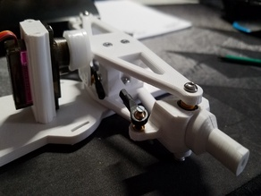 Front Hubs 2mm, 2.5mm, and 3mm Diameter Steering Arm for Direct Steering and Suspension