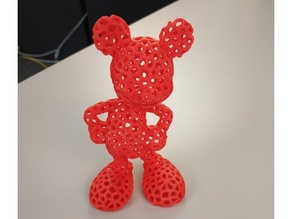 Mickey Mouse (Voronoi)