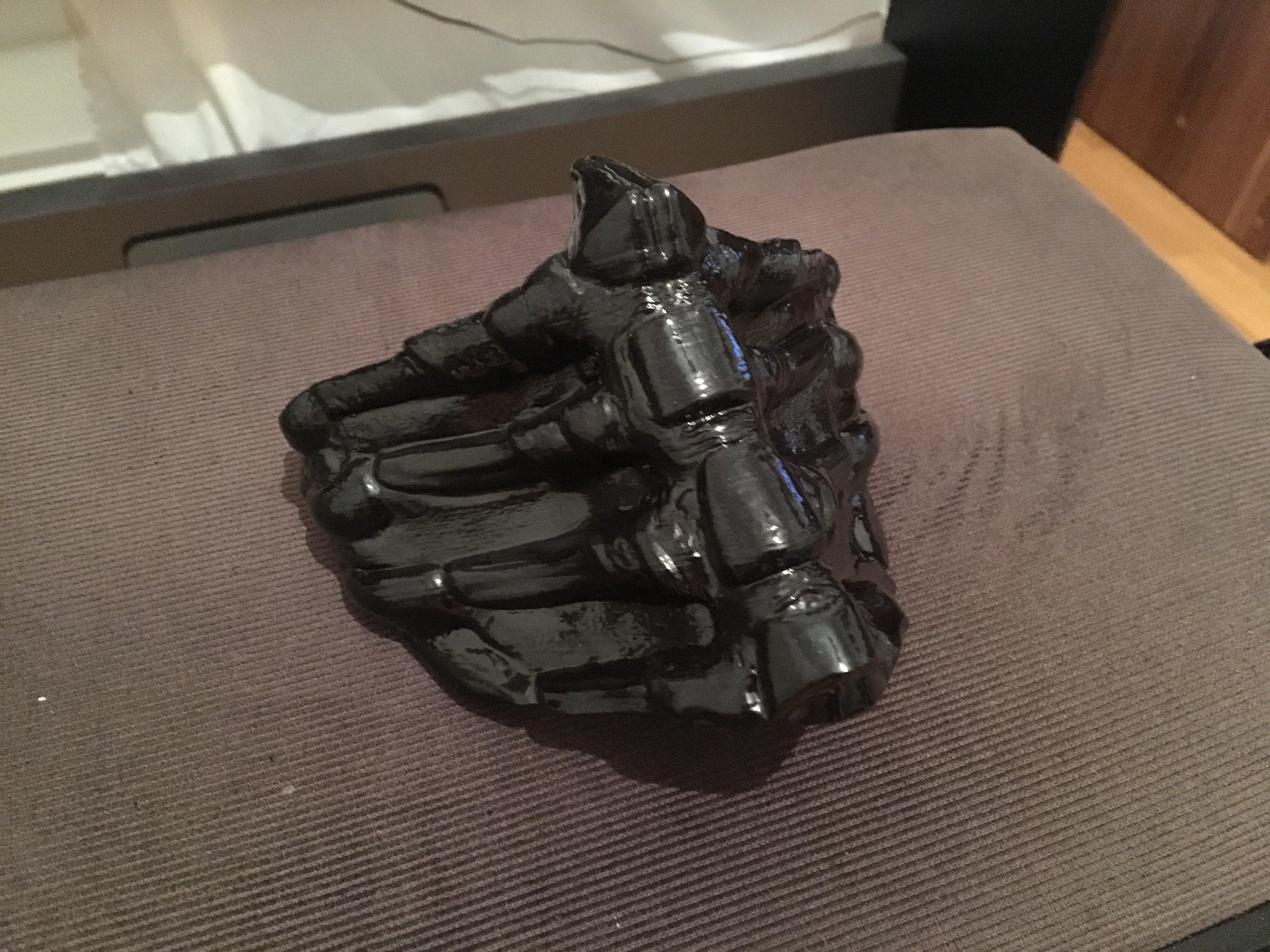 Makes Of Scorpion Mask Mortal Kombat By Happysoft Thingiverse