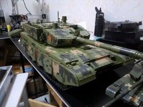 CHINAMBT   ZTZ-99A  MBT  RC TANK  99A RC TANK