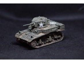 M3A1 Stuart Tank 1:56 scale (28mm)