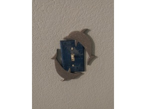 Dolphin Light Switch Cover