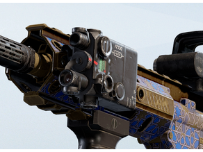 Laser Sight attachment from Rainbow Six Siege