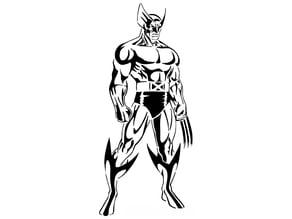 Wolverine Stencil 3