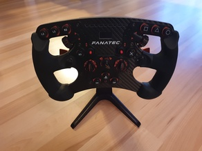Fanatec Wheel Stand with Quick Release Mount