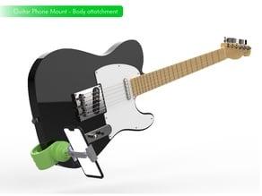 Guitar Camera Mount / Soporte de Camara para Guitarra