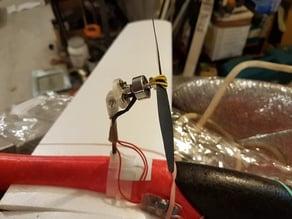 LIDL glider pylon motor mount