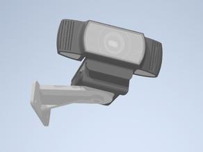 Webcam wall mount (logitech C922 Pro)
