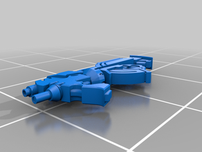 Combi-Rifle + Light Grenade Launcher for Pan-O from Infinity: The Game