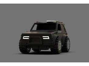Mini RC Car_4W