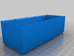 Halfsized Simple Container (Rasterized and Stackable)