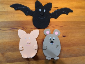 Templates for eggshape figures (pig, mouse and bat)
