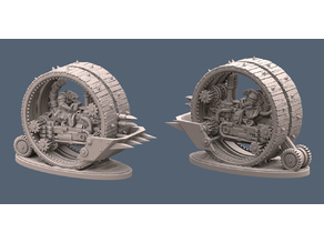 Rat Man Tank Wheel