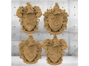 Harry Potter Coat of Arms for CNC