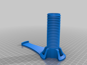 Filament Spool Holder for Snapmaker 2.0 Modification