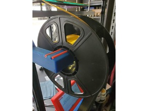 PTFE Lined Spool Holder and Filament Guide