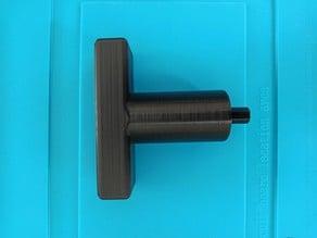 Lathe chuck key